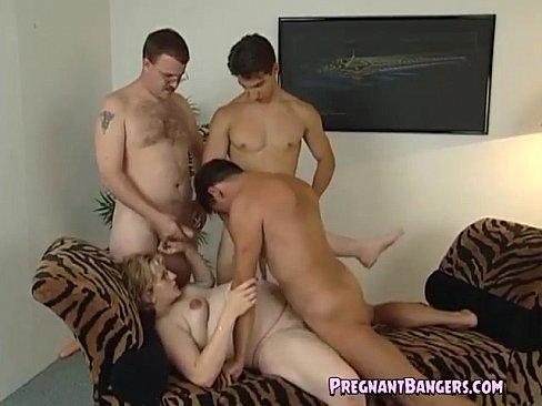 Porn three pregnant