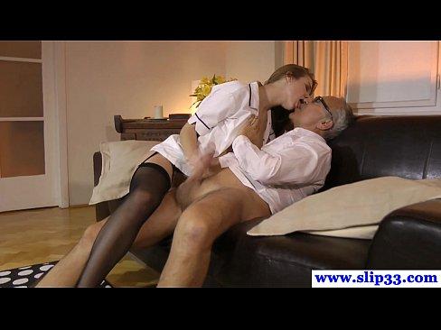 young euro nurse fucks mature couple