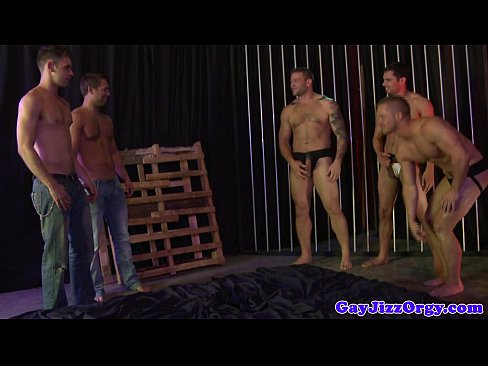 Bj and wanking orgy with Bobby Clark