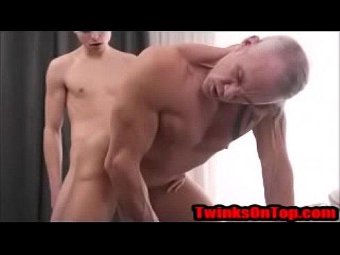 Teen Fucks his daddy after a shower - TwinksOnTop.com