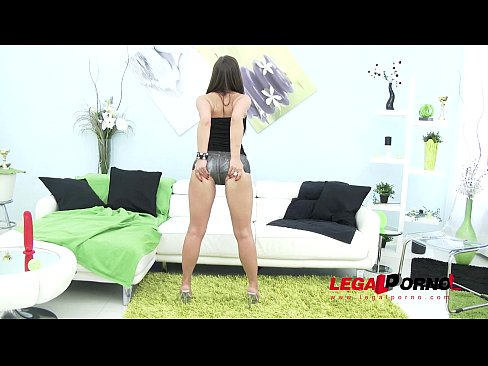 anal loving slut kristy black assfucked again with hard double penetration