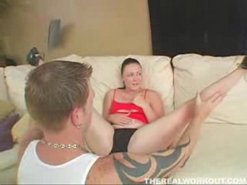 Trinity Dynamite moves her warm wet tongue up and down a dick