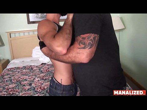 MANALIZED Thirsty Stephen Harte Raw Riding To Cum On Daddy