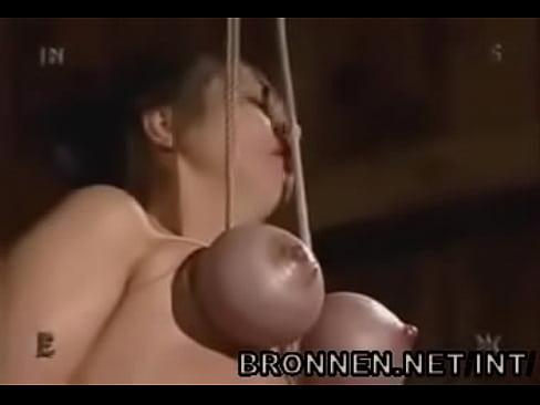 Tit Breast hanging bdsm suspension