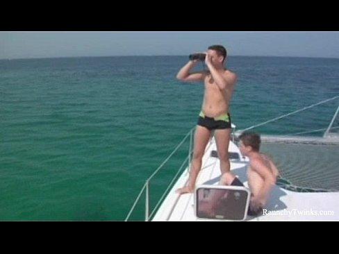 Amateur sailors butt banged raw