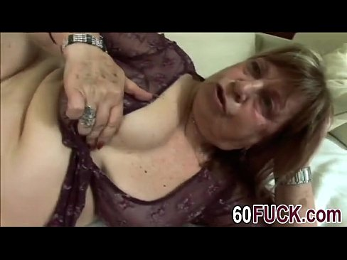 Fat grannie blowjob