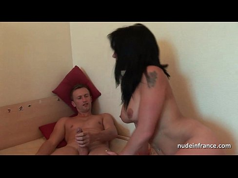 FFM Gorgeous Amateur Busty french milf anal fisted and dildo fucked