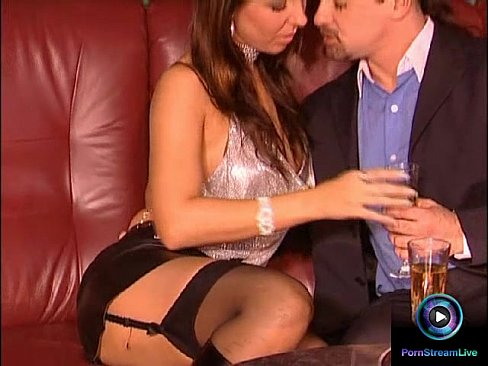 Glamour beauty Maria Belucci closeup fucked on both her tight holes