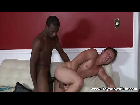 BlacksOnBoys Interracial hardcore gay porn videos 28 5 min Glorygap