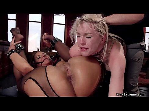 Big throats anal slaves are banged