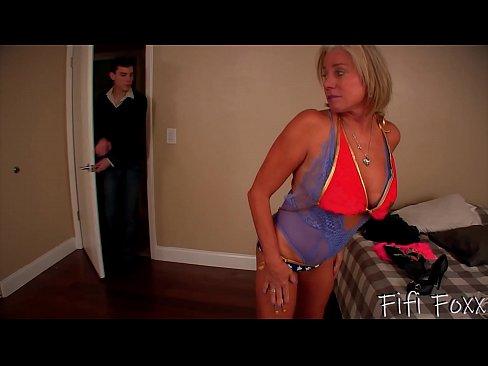 Mom Becomes a Stripper - Son Fucks Mom - Payton Hall's Thumb