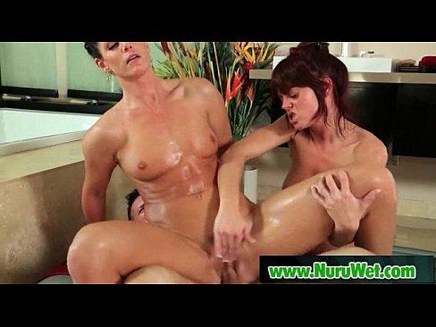 Wet sex massage