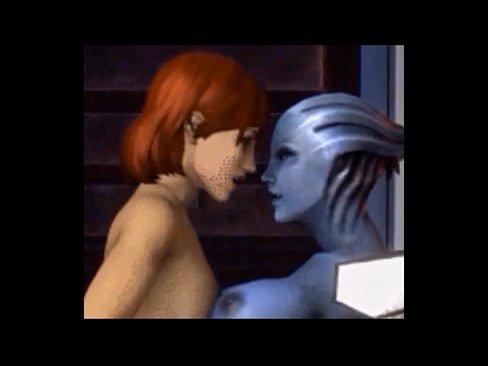 Mass effect alien lesbian sex pics