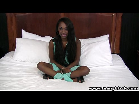 Ebony Teen ha sex