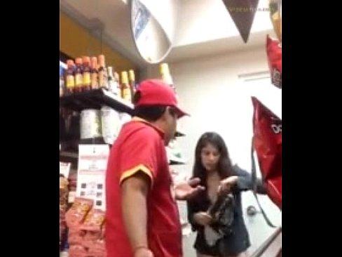 Girl Busted Masturbating In Shop's Thumb
