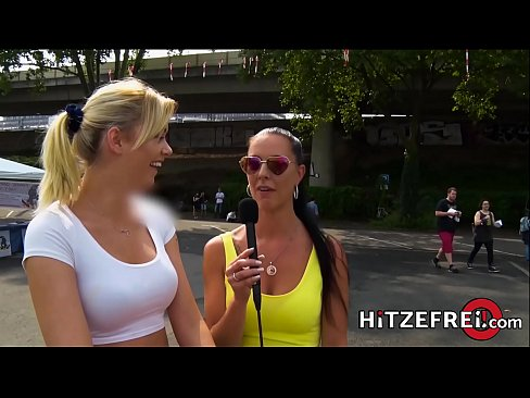 HITZEFREI Gamer girl Anny Aurora fucking a stranger