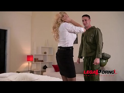 Fetish Loving Milf Kayla Green is Tied Up, Spanked, Fingered, and Fucked GP161