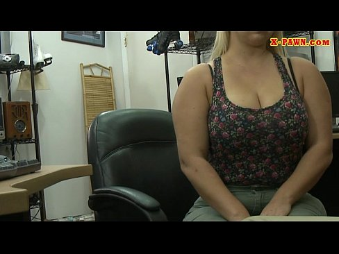 Butt fucked blonde whore