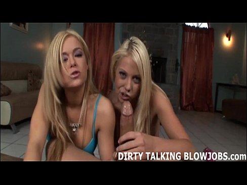 Two blonde sluts suck cock photo 170