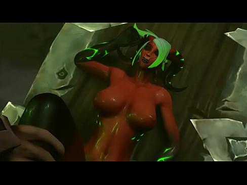 Sexy Draenei gets fucjed hardXXX Sex Videos 3gp