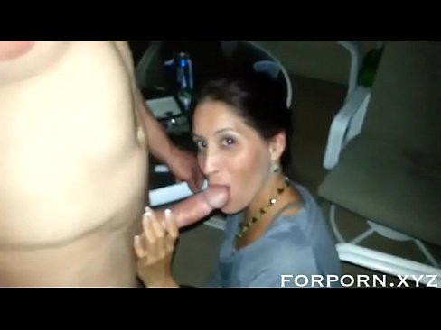 shy amateur wife blows husbands friend