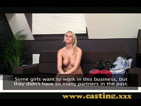 Casting busty year old is overwhelmed