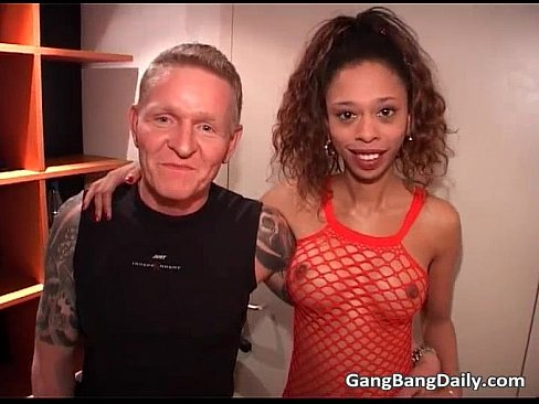 Leah stevenson in masked threesome porn tube