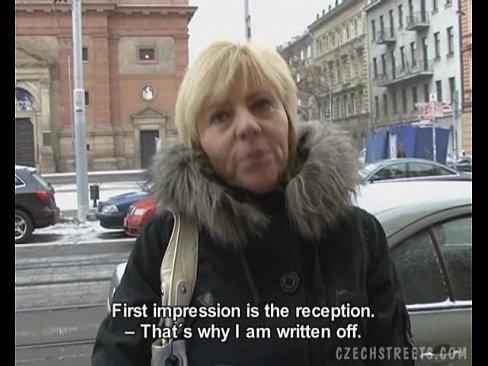Зрелая с улицы порно