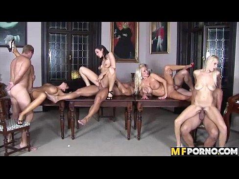 Amazing orgy Anastacia Divine, Angel Velvet, Christina Jolie, Sharon Pink 1 5