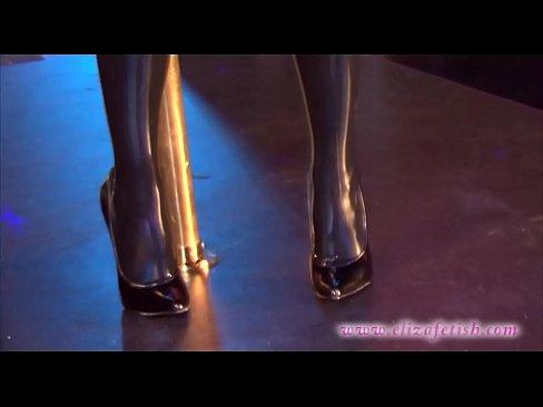 sex 6 stilletoes stocking