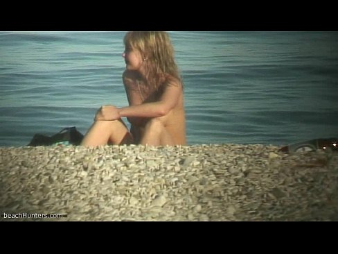 Cute nudist teen caught on cam