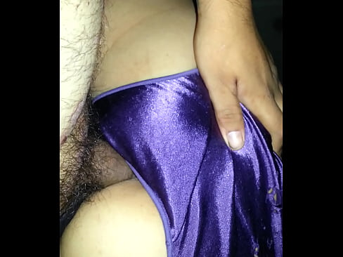 For satin panty creampie really
