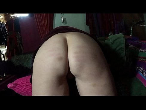 Caned naughty ass
