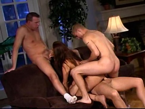 Hardcore Triple Team Porn