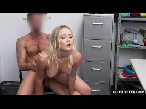 Officer loves squeezing Natalias breasts as she bounce on top of his shaft and gyrates her ass