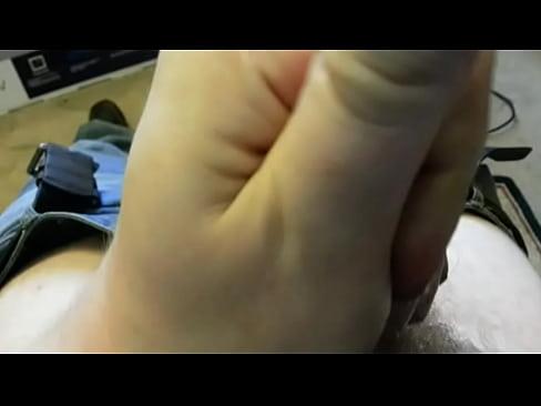 Uncut Cock Jerk Off