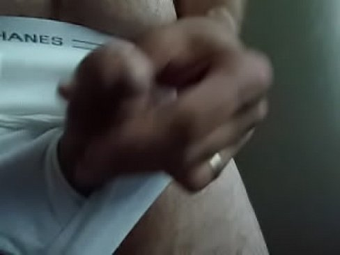 Dick out of underwear play by window's Thumb