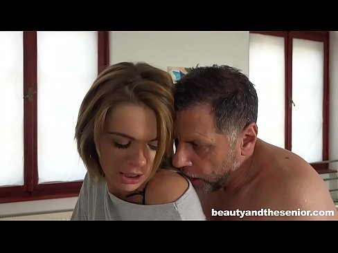 Senior doctor Philippe is lucky enough to be seduced by Lara West