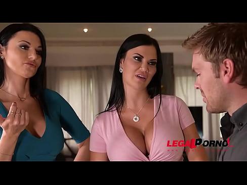 busty lesbian bombshells jasmine jae & ania kinski swallow realtors cock gp251