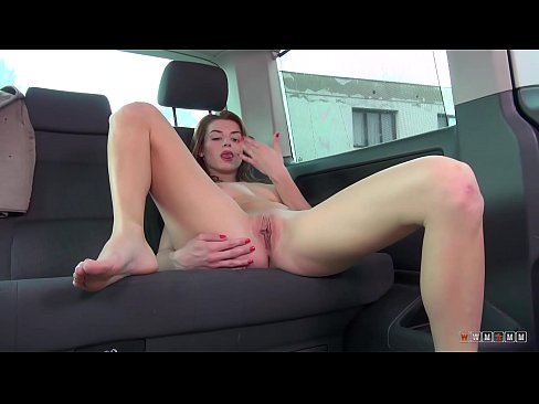 sultry redhead victoria daniels gets you hard with her eyes only