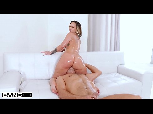 BANG Surprise - Big Booty Jada Stevens Oiled Up And Fucked