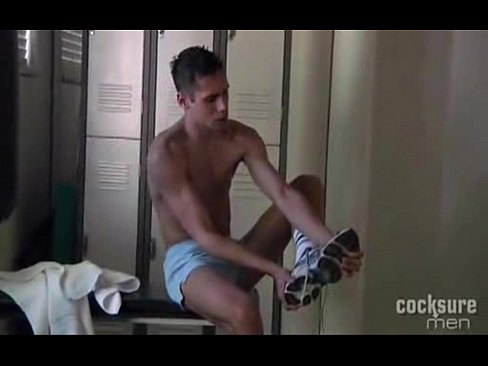 Naked boys in dirty socks
