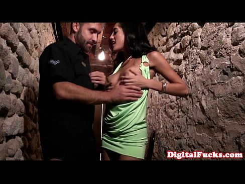 Petite glam latina fucked by lucky policeman