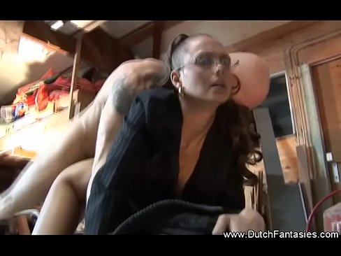 Dutch MILF With Glasses