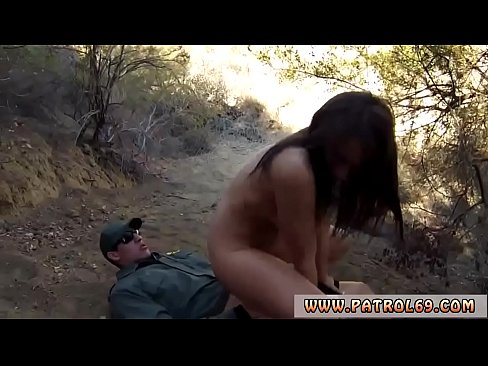 XXX 2020 Border police and mexican boarder patrol Kayla West was caught lusty
