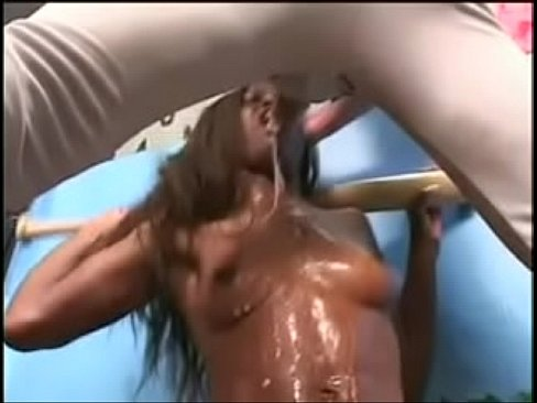Sloppy Deep Throat Ebony