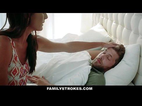 familystrokes - sweet stepmom fucks son to feel better