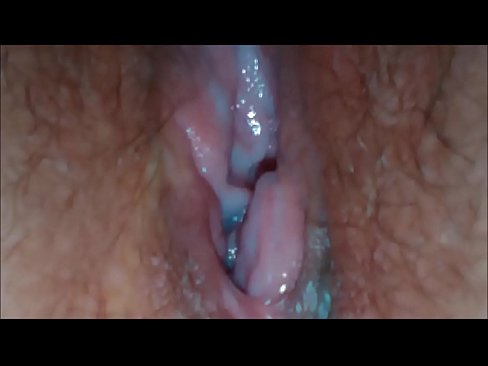 Eating Out her Wet Teenage Pussy Closeup