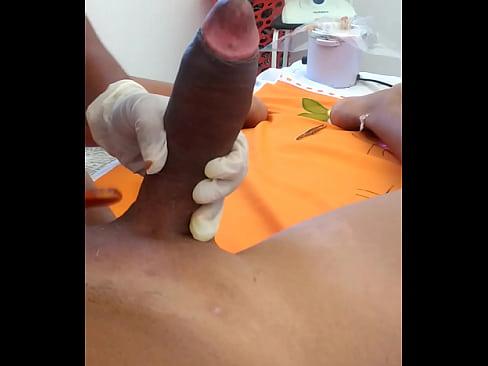 Desi Miss Waxing And Massaging Make Prick Cumshot 1