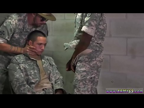 Two Army Officers Spitroasting Prisoner Amateur Gay